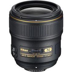 Nikon 35mm f/1.4G AF-S Nikkor Lens - Nikon USA Warranty 2198