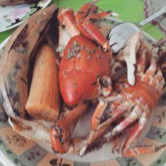 #paleofood #Ecuador... vengan a mi todos los #cangrejos q me pueda comer para ser #feliz :)