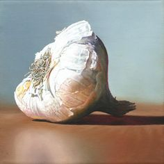 Hyperreal oil paintings by christoph eberle Hyperrealistic Art, Pencil Drawings, Still Life, Oil On Canvas, Garlic, Deviantart, Painting, Animals, Switzerland