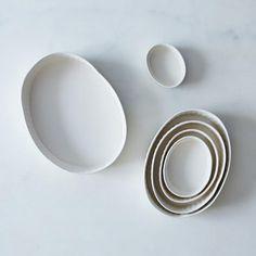 Oval Nesting Ramekins (Set of 6). KitchenwareTablewareServewareDishesPlateProduct ... & suntree studio | object/found. | Pinterest | Kitchenware Tableware ...