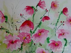 Watercolor Pictures Of Flowers ... For more Image Click Link