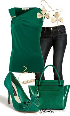 """Emerald"" by stay-at-home-mom on Polyvore"