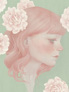 Selected Portrait by HSIAO-RON CHENG, via Behance