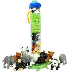 Amazon.com: Safari Ltd Zoo Babies TOOB: Toys & Games