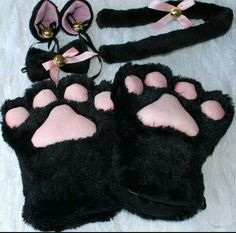 Cosplay Anime Costume - Cute Kitty Anime Cosplay Costume Gloves Sweet Cat Ears Plush Paw Claw Gloves Tail Bow-tie Halloween Special Use: Costumes Gender: Women Source Type: Original Characters: Sweet Cat Cosplay Components: Costumes Cat Cosplay, Catwoman Cosplay, Anime Cosplay Costumes, Cat Costumes, Teen Costumes, Woman Costumes, Mermaid Costumes, Pirate Costumes, Couple Costumes