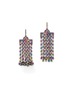 Luxury watches and fine jewelry gift guide: Solange Azagury-Partridge Chromadelic earrings