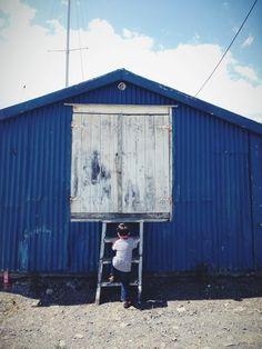Blue barn | VSCO Journal
