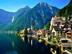 Lake Village, Hallstatt, Austria (so beautiful!!)
