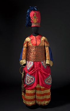 The original costume of the Chief Eunuch from Ballet Russe's Scheherezade.
