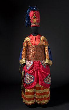 BALLETS RUSSES: The Art of Costume -   Léon BAKST   Costume for the Chief Eunuch