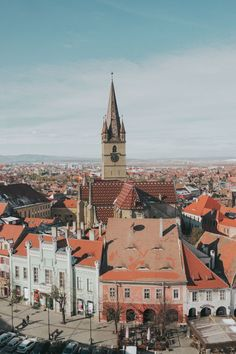 Planning a trip to Sibiu Romania? Here's the complete travel guide to the most colorful town in Romania! Including fun things to do in Sibiu plus everything you need to know before visiting. Cool Places To Visit, Great Places, Places To Travel, Beautiful Places, Amazing Places, Sibiu Romania, Mall Of America, North America, Romania Travel