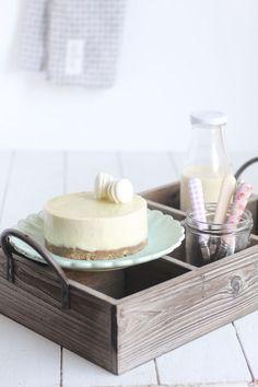 El postre del verano: un pastel delicioso de mousse de vainilla y streusel que no te dejará indiferente. Ven y disfrútalo.