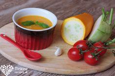 Kalerábovo-cuketová polievka - Powered by Russian Recipes, Cantaloupe, Pudding, Diet, Fruit, Desserts, Food, Polish, Tailgate Desserts