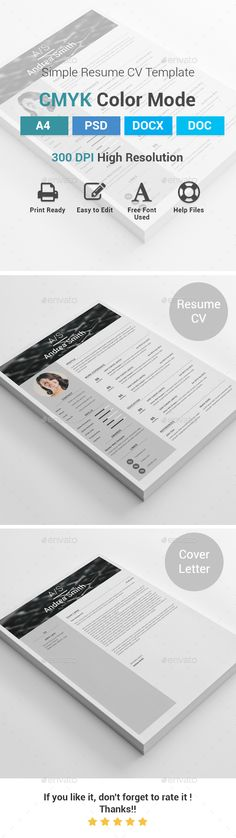 CV Resume Portfolio Vol2 Creative, Heres and Http - cleaner resume template