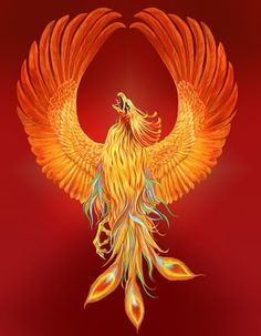 Mythical Phoenix Bird Art | Image 9 of 19) Copyright © Sandy Madison