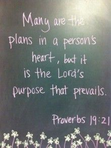 The Lordu0027s Purpose Prevails My Favorite Verse