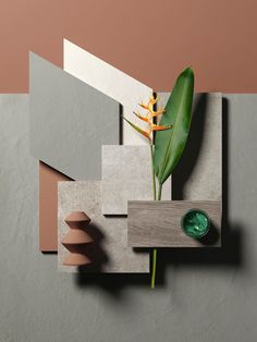 Put your ideas in a moodboard and let your projects become reality. Put your ideas in a moodboard an Interior Room, Moodboard Interior, Interior Design, Estilo Tropical, Material Board, Colour Board, Colour Schemes, Color Combinations, Color Inspiration