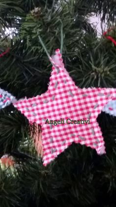 Decorazione natalzia in cotone