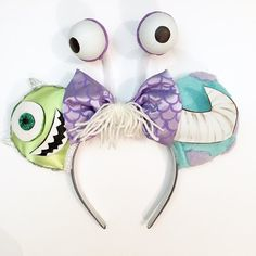 Make your Disney vacation extra special with these handmade Monsters Inc  inspired Magic Mouse Ears. Ideal for the Disney lover in everyone. 9625129b015e