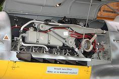 Messerschmitt BF 109 G4 Engine - DB 605 | Daimler Benz DB605… | Flickr