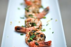 The Enchanted Cook: Chile Ginger Shrimp