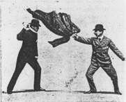 "Bartitsu: The Martial Art of Gentlemen - Sir Arthur Conan Doyle even had Sherlock Holmes practicing ""baritsu"" (a misspelling of bartitsu) in The Adventure of the Empty House"