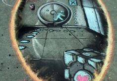 Portal Graffiti –  Video Game Street Art