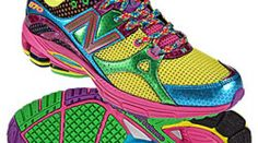 """NEW BALANCE """"DISCO LIGHTS"""" RUNNING SHOE.  I think I'll take up running just so I can get these shoes!"""