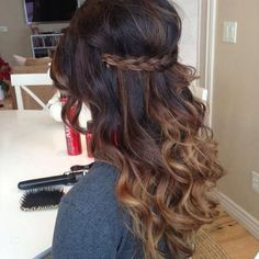 Gorgeous wedding hair for bride and bridesmaids!