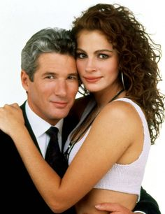 """Richard Gere and Julia Roberts by on DeviantArt - Richard Gere and Julia Roberts (""""Pretty Woman"""", Source by filmfreakprint - Pretty Woman Movie, Love Movie, Roy Orbison, Dirty Dancing, Foto Art, Cindy Crawford, Classic Movies, Hollywood Stars, Good Movies"""