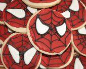 Spider-man AND Sugar Cookies!  (My inner nerd meets my inner fat girl).