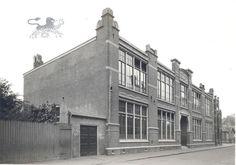 margaretha de heerstraat 1930  u.l.o groen van prinsterer Historisch Centrum Leeuwarden - Beeldbank Leeuwarden