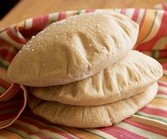 Homemade Pita Bread Recipe (Fine Cooking)