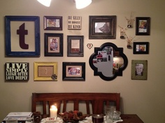 My very own collage wall...