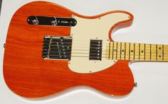 Still pine after the tele style, and the G&L Bluesboy in particular.