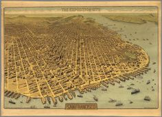 The Exposition City San Francisco. 1912 : David Rumsey Historical Map Collection