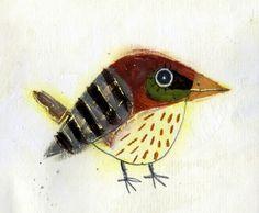 the art room plant: Lee Eun-Sun Bird Quilt, Bird Artwork, Rabe, Arte Popular, Bird Illustration, Bird Drawings, Pet Birds, Collage Art, Illustrators