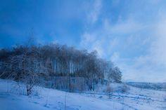 Зимние пейзажи русской деревни