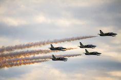 jets over huntington