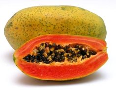 Papaya. Massage a piece of ripe papaya on your face for blemish-free skin. Plop a piece in your mouth to prevent constipation. Do you know constipation also causes chapped lips!To prevent constipation you can also just apply few drops of any oil in your navel before sleeping.