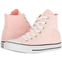 Converse Chuck Taylor All Star Snake Woven Textile Hi (White/Vapor... (£41) ❤ liked on Polyvore featuring shoes, sneakers, pink, snake print shoes, white lace up sneakers, pink sneakers, star sneakers and white shoes