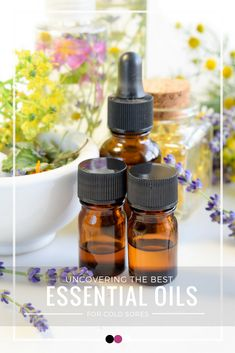 Time to uncover the best essential oils for cold sores that actually work!