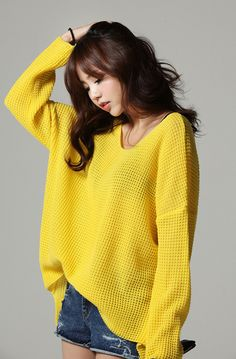 itsme style : Sarah_style  woman fashion online wholesale shopping mall, basic loose knit