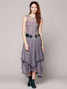 Free People Foil Print French Courtship, $108.00, dress idea for Mary and Carol