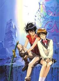 When high school girl Hoshino Hitomi dabbles with tarot cards she suddenly finds herself on a strange world called Gaea. With her new found friend, Van Fanel, the young prince of the devastated kingdom of Fanelia, Hitomi becomes involved in the battle against the Zaibach forces, an evil empire bent on conquering the planet. So begins the epic saga that spawned one the most acclaimed anime series of the past decade ...