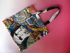 Do you love 侍 (Samurai)?? If so, check out this cool handmade tote bag!  http://j-fair.com/product.php?id=565