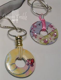 DIY Bijoux Washer Pendant Necklaces & Keychains Haley Dyer shared some awesome Washer P Hardware Jewelry, Wire Jewelry, Jewelry Crafts, Beaded Jewelry, Jewlery, Jewellery Nz, Bullet Jewelry, Gothic Jewelry, Jewelry Necklaces
