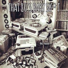 That 80's Baby Shit... . . . . . . . ...... ...... ...... ..... ...... ........ . #80sbaby #80sbabyshit #80s #theeighties #the90skids #ilovethe90s #ilovethe80s #djequipment #recordcollection #mpc #turntables #memoriess #nostalgic #beardgang #brooklyn #chrons #egyptian #muslimamerican #jerseycity #loveisloveislove #payattention #rrr #stayhumble #trenton by ali.pharaoh