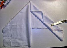 ...And Then We Set It On Fire: Shibori Folding - no 17