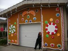 gingerbread house aka son of giant candy page 5 - Gingerbread House Christmas Decoration
